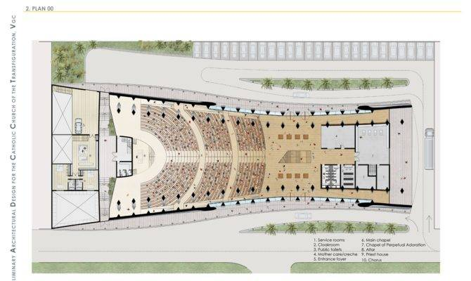World Architecture Brand New Church Building Lagos