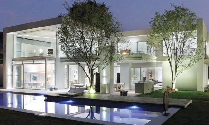 World Architecture Modern Luxury House Johannesburg