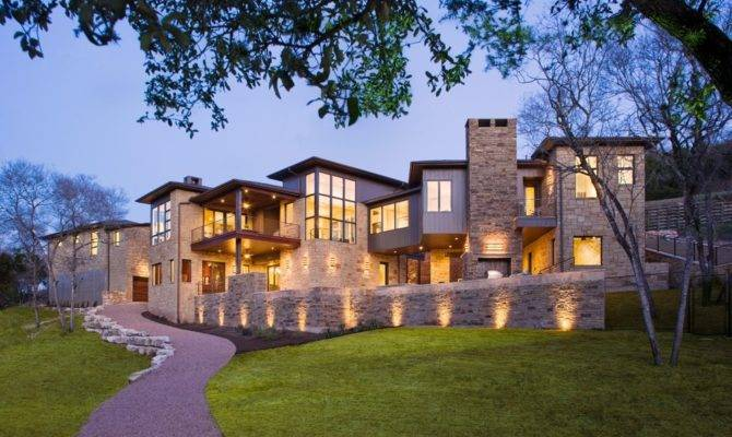 World Architecture Westlake Drive Contemporary Luxury