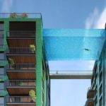 World First Nine Elms Sky Pool Suspended Storeys High