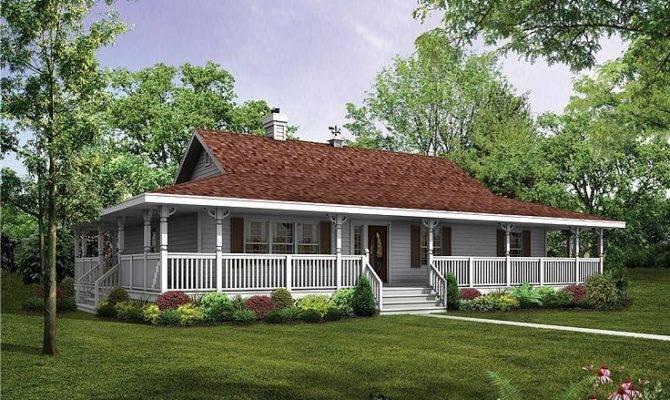 Wrap Around Porch Basement House Plans Pinterest