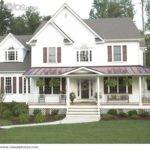 Wrap Around Porch Country Style House Houses Pinterest