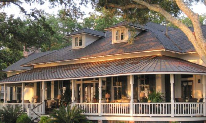 Wrap Around Porch Tin Roof Simply Bonus Love