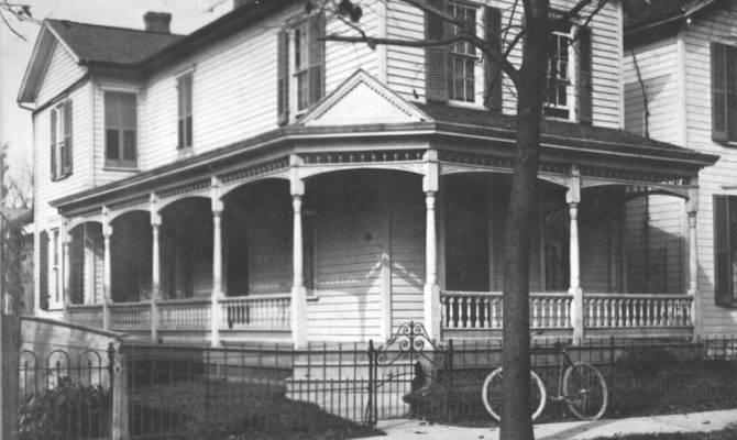 Wright Home Hawthorne Street Dayton Ohio Both