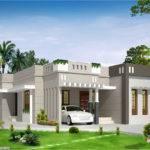 Yards Bedroom Single Floor House Design Biya Creations Mahe