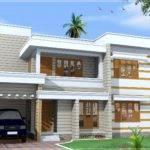 Yards Flat Roof House Designed Green Homes Thiruvalla Kerala