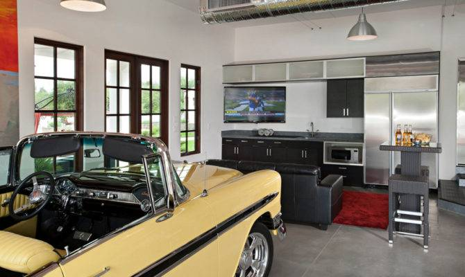Your Dream Garage Man Cave Ideas Interior Design