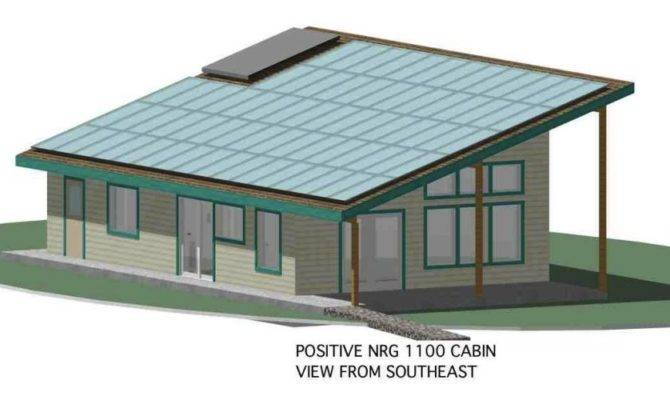 Zero Energy Home Plans Positive Nrg Cabin