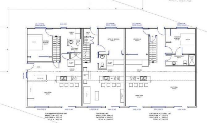 Zero Energy Home Plans Positive Nrg Triplex